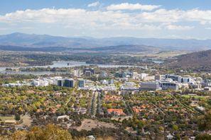 Bílaleiga Canberra, Ástralía