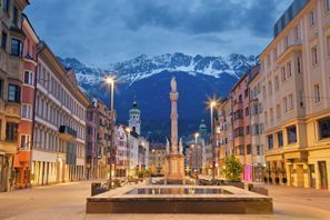 Bílaleiga Innsbruck, Austurríki