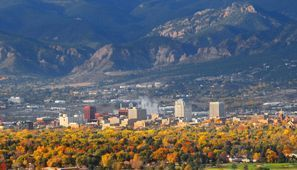 Bílaleiga Colorado Springs, CO, Bandaríkin