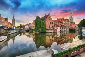 Bílaleiga Bruges, Belgía