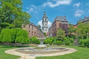 Bílaleiga Mons, Belgía