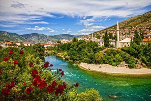 Bílaleiga Mostar, Bosnía
