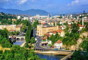 Bílaleiga Sarajevo, Bosnía