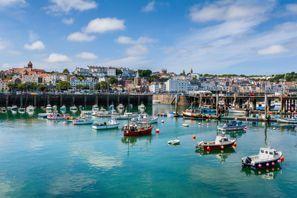 Bílaleiga Guernsey, Bretland