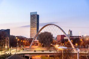 Bílaleiga Manchester, Bretland