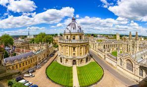 Bílaleiga Oxford, Bretland