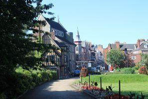 Bílaleiga Shrewsbury, Bretland
