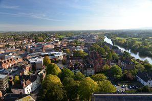 Bílaleiga Worcester, Bretland