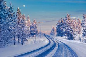 Bílaleiga Ivalo, Finnland