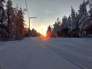 Bílaleiga Pello, Finnland