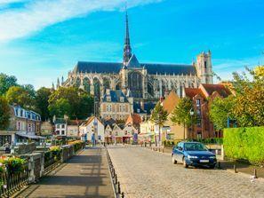 Bílaleiga Amiens, Frakkland