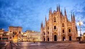 Bílaleiga Milan, Ítalía