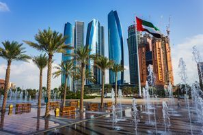 Bílaleiga Abu Dhabi, Sameinuðu arabísku furstadæmin